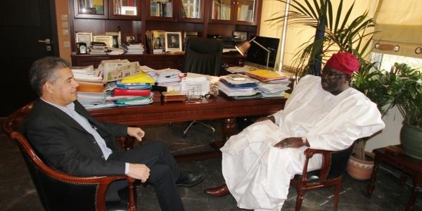 Στο ΒΕΘ ο πρέσβης της Νιγηρίας στην Ελλάδα