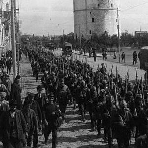 Το θέατρο επιχειρήσεων της Θεσσαλονίκης στο πλαίσιο του Α΄ Παγκοσμίου πολέμου