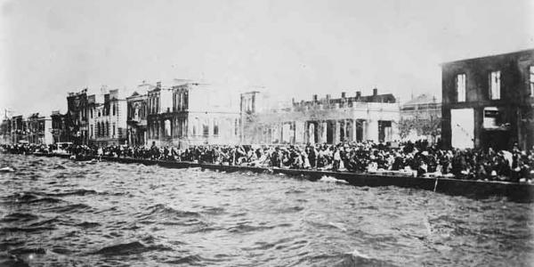 Θεοφάνια στο λιμάνι της Σμύρνης