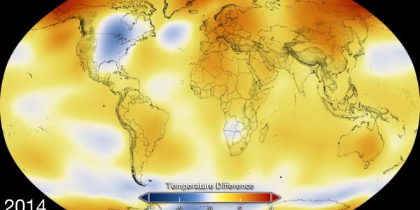 Tο 2015  το θερμότερο έτος  της ιστορίας της NASA