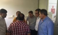 Επίσκεψη Μουζάλα στα κέντρα φιλοξενίας προσφύγων στον Λαγκαδά