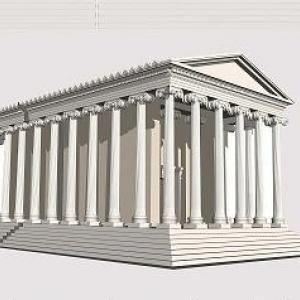 Διάλεξη για τον υστερο-αρχαϊκό ναό της Θεσσαλονίκης