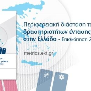 Οι επιδόσεις των Ελληνικών Περιφερειών στους τομείς Έρευνας, Ανάπτυξης και Καινοτομίας