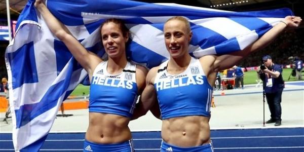 Δύο Ελληνίδες στην κορυφή της Ευρώπης στο επί κοντώ