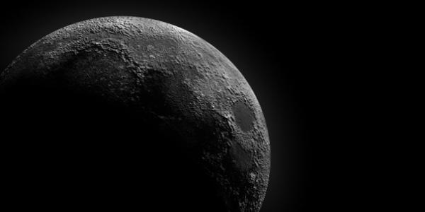 H NASA βρήκε πάγο  στη σκοτεινή πλευρά του φεγγαριού