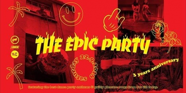 3 Years The EPIC Party - WE / Thessaloniki