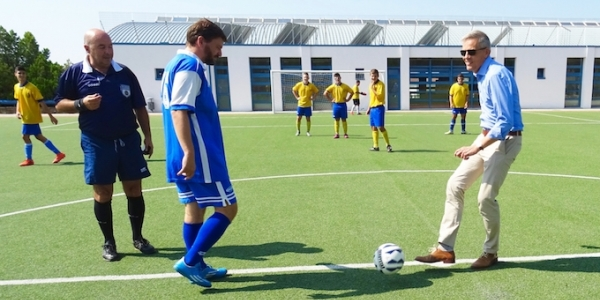 Η Γερμανική Σχολή έπαιξε ποδόσφαιρο