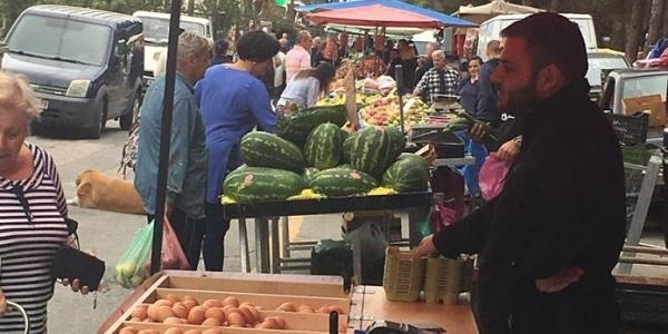 Νεοϊδρυθείσα λαϊκή αγορά στη Νέα Ραιδεστό και τη δημοτική κοινότητα Τριλόφου