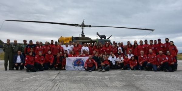 Πραγματοποιήθηκε διημερίδα αεροδιάσωσης από την Ελληνική Ομάδα Διάσωσης