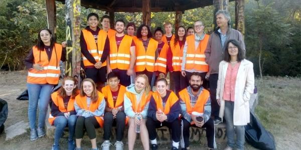 Εθελοντική εργασία φοιτητών Αμερικανικών Πανεπιστημίων στη Θέρμη