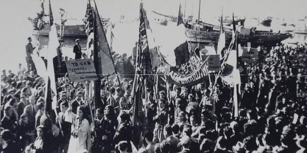 Εκδήλωση   για τα 74 χρόνια της απελευθέρωσης της Θεσσαλονίκης από τον ΕΛΑΣ