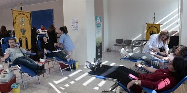 Με 562 μονάδες ενισχύθηκε η Τράπεζα Αίματος του δήμου Νεάπολης-Συκεών