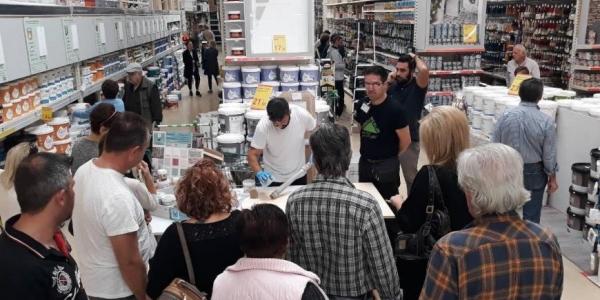To κατάστημα LEROY MERLIN στη Θεσσαλονίκη γιόρτασε 10 χρόνια