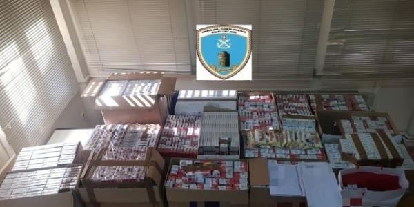Συλλήψεις αλλοδαπών για παράνομη κατοχή πακέτων τσιγάρων