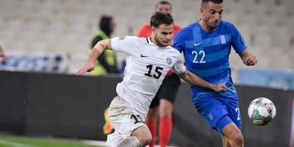 Ελλάδα - Εσθονία 0-1
