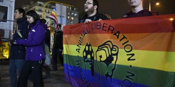 Πραγματοποιήθηκε πορεία με αφορμή τη Διεθνή Ημέρα Μνήμης Τρανς θυμάτων