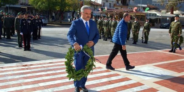 Ο εορτασμός της Ημέρας των Ενόπλων Δυνάμεων στον Σταυρό