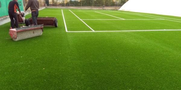 Αναβαθμίστηκαν γήπεδα αντισφαίρισης σε Ευκαρπία, Άνω Ηλιούπολη και ΔΑΚ Πολίχνης