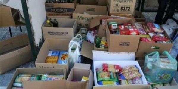 Διανομή τροφίμων στο Δήμο Πυλαίας για τους Απόρους