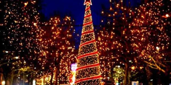Ανάβει το Χριστουγεννιάτικο Δέντρο  στην Καλαμαριά