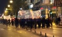 Αντιφασιστική πορεία στο κέντρο της Θεσσαλονίκης