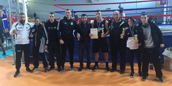 Επιτυχίες για τους πυγμάχους του ΠΑΟΚ στο Πανελλήνιο  Πρωτάθλημα Ανδρών