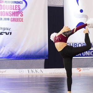 CHEERLEADING: Στην 4η θέση της Ευρώπης το Ζευγάρι από τον ΑΣ Εύαθλοι Τρικάλων