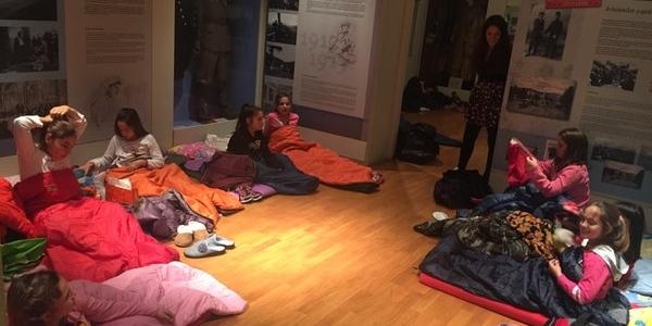 Sleepover στο Μουσείο Μακεδονικού Αγώνα