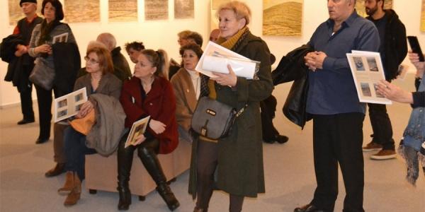 Πραγματοποιήθηκαν τα εγκαίνια της έκθεσης ζωγραφικής του Serhad Bapir  στο Βαφοπούλειο