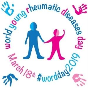 18 Μαρτίου 2019 - Παγκόσμια Ημέρα Παιδιατρικών ή Νεανικών Ρευματικών Νοσημάτων