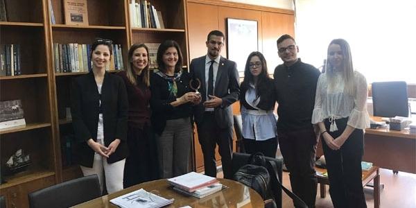Φοιτητική ομάδα της Νομικής Σχολής του ΑΠΘ εκπροσωπεί την Ελλάδα