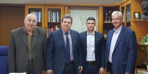 Συνάντηση του Γ.Γ. του Υπουργείου Ψηφιακής Πολιτικής  με τις Πρυτανικές Αρχές του ΑΠΘ