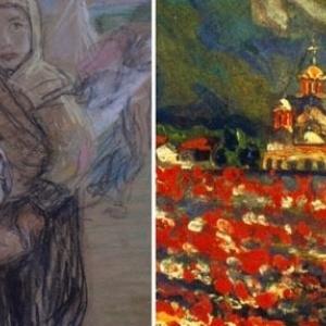 Ο Α΄ Παγκόσμιος Πόλεμος με το βλέμμα δύο γυναικών ζωγράφων