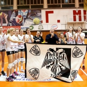 Πρωταθλητής ο ΠΑΟΚ και άνοδος στη Volleyleague