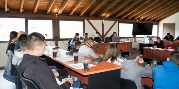 Προσομοίωση δημοτικού συμβουλίου από μαθητές σχολείων του δήμου Βόλβης