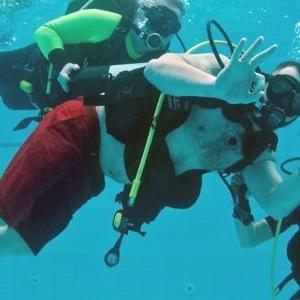 2η Αυτόνομη Κατάδυση για άτομα με κινητική αναπηρία στο Δημοτικό Κολυμβητήριο Συκεών