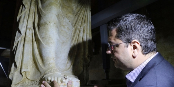 Τζιτζικώστας: Tο μακεδονικό μνημείο του Τύμβου Καστά θα ανοίξει τις πύλες του για τον κόσμο