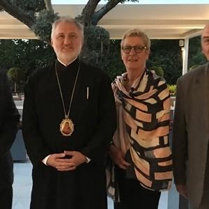 ΑΠΘ: Συνάντηση των Πρυτανικών Αρχών με τον νέο Αρχιεπίσκοπο Αμερικής
