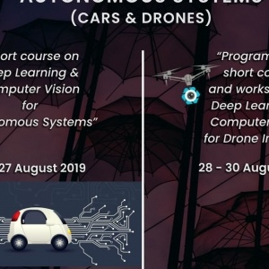 «Summer school on Autonomous Systems (cars & drones)»