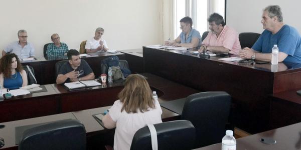 Συνεδρίαση   στο δήμο Νεάπολης-Συκεών για τις πυρκαγιές στο Σέιχ-Σου