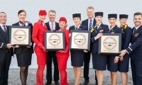 Τέσσερα αεροπορικά βραβεία για τον όμιλο Lufthansa