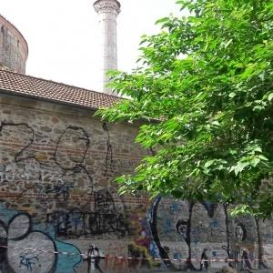 H Πολιτιστική Εταιρεία Επιχειρηματιών Βορείου Ελλάδος καθαρίζει την Ροτόντα