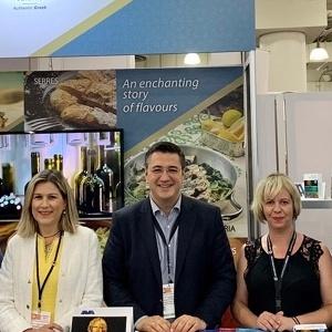 """Ο Απόστολος Τζιτζικώστας στη διεθνή έκθεση τροφίμων – ποτών """"Summer Fancy Food Show 2019"""""""