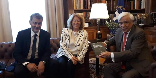 Συνάντηση Παυλόπουλου με μέλη του Δ.Σ. του «Διεπιστημονικού Κέντρου Αριστοτελικών Μελετών»