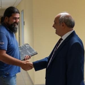 Επίσκεψη Μ. Μπόλαρη  στην Περιφέρεια Κεντρικής Μακεδονίας