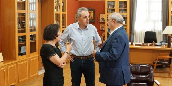 Συνάντηση Μ.Μπόλαρη με τον Δήμαρχο Καλαμαριάς