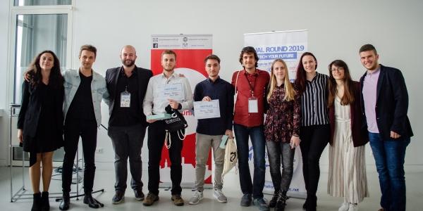 Φοιτητική ομάδα   νικήτρια σε τελικό  Ευρωπαϊκού διαγωνισμού