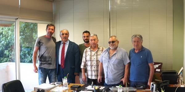 O Μπόλαρης στο Εργατοϋπαλληλικό Κέντρο Θεσσαλονίκης