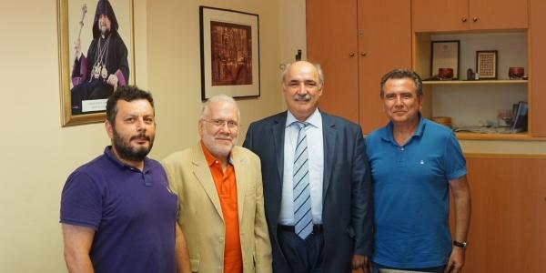 Επίσκεψη Μάρκου Μπόλαρη στην Αρμενική Κοινότητα Θεσσαλονίκης