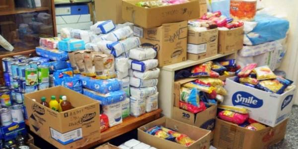 Διανομή τροφίμων στο δήμο Βόλβης